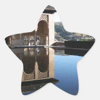 Alhambra, Granada, Spain Star Sticker