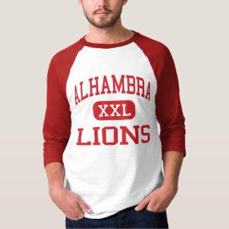 Alhambra - leones - High School secundaria - Phoen Playera