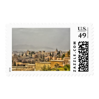 Alhambra Palace, Granada, Spain Stamp