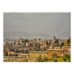 Alhambra Palace Granada Spain Poster