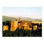 alhambra palace postcard