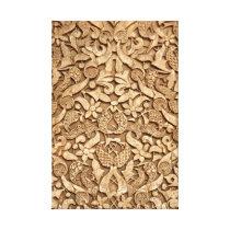 Alhambra pattern canvas print