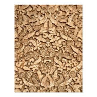 Alhambra pattern flyer