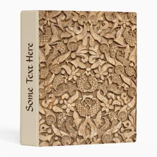 Alhambra pattern mini binder