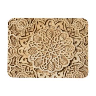 Alhambra pattern rectangular magnets