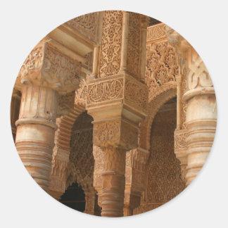 Alhambra Round Sticker