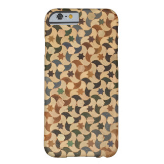 Alhambra Star Mosaic Warm-Hue Barely There iPhone 6 Case