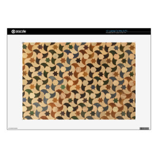 Alhambra Star Mosaic Warm-Hue Laptop Decal