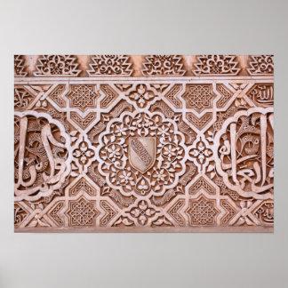 Alhambra Tile Poster