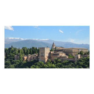 Alhambra View Photo Card