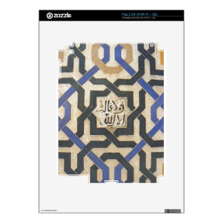 Alhambra Wall Tile #10 Decals For iPad 2