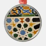 Alhambra Wall Tile #3 Christmas Tree Ornament