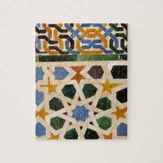 Alhambra Wall Tile #3 Jigsaw Puzzle