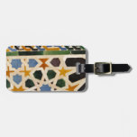 Alhambra Wall Tile #3 Luggage Tag
