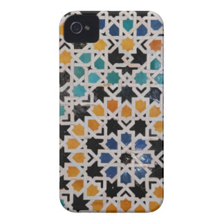 Alhambra Wall Tile #9 iPhone 4 Covers