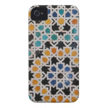 Alhambra Wall Tile #9 Case-Mate iPhone 4 Cases