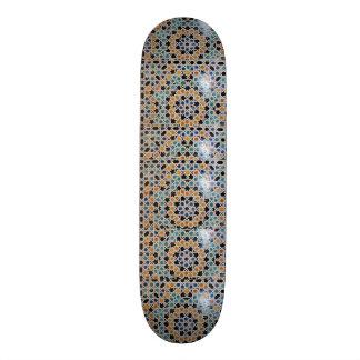 Alhambra Wall Tile #9 Skateboard