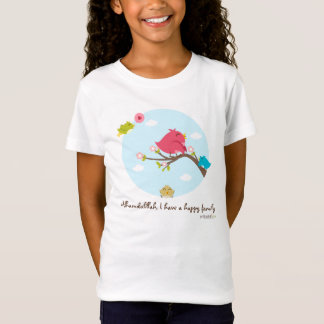 Alhamdulillah I Have A Happy Family Kids Tees