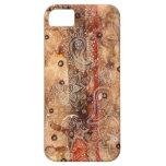 Alheña del cordón iPhone 5 protectores