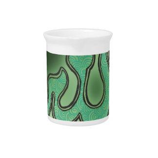 Alheña verde de Alá Jarrones