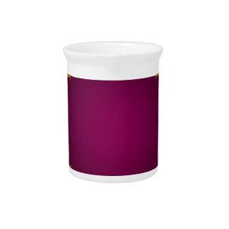 alheña violeta de oro jarrones