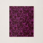 alheña violeta inconsútil puzzles con fotos