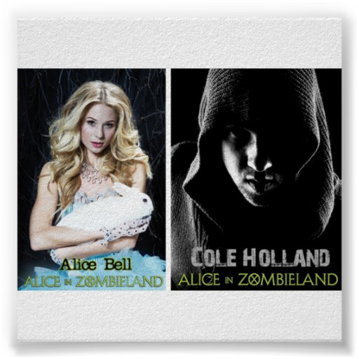 Ali and Cole Alice in Zombie Land Posters