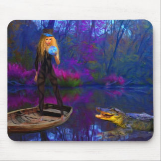Ali and Gator Mouse Pad