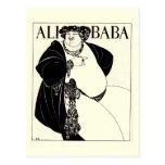 Ali Baba by Aubrey Beardsley Post Card