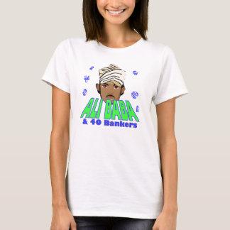 Ali Baba financial crisis corporate greed humor T-Shirt