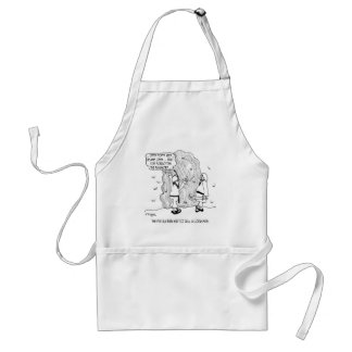 Ali Baba Forgets His Password Adult Apron