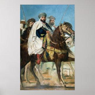 Ali Ben Ahmed, el califa pasado de Constantina Posters