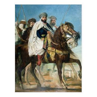 Ali Ben Ahmed, el califa pasado de Constantina Tarjeta Postal