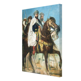 Ali Ben Ahmed, the Last Caliph of Constantine Stretched Canvas Print
