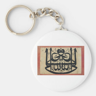 Ali is the Vicegerent of God Mirror Islam Writing Basic Round Button Keychain