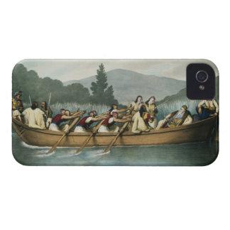 Ali Pasha (1741-1822) of Janina hunting on Lake Bu iPhone 4 Case-Mate Cases