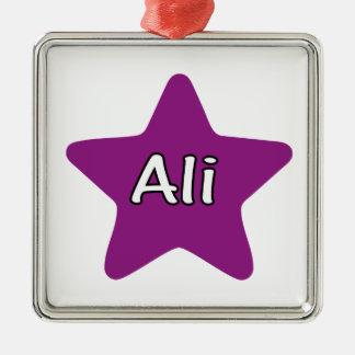 Ali Star Metal Ornament