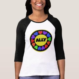 Aliado de los derechos de los homosexuales t-shirt