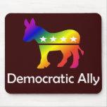 Aliado Democratic de GLBT Alfombrilla De Raton