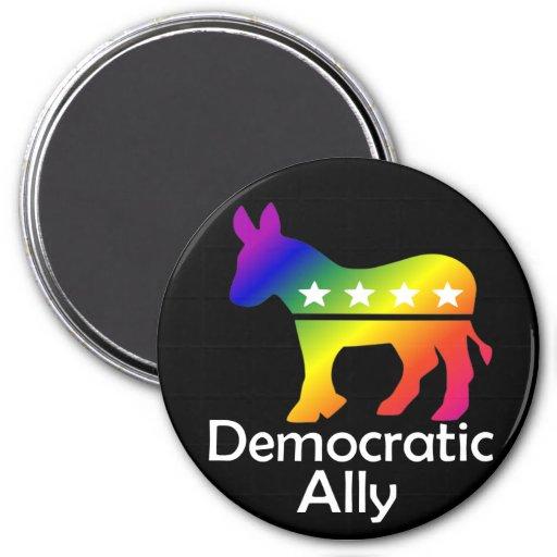 Aliado Democratic de GLBT Imán
