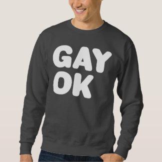 Aliado grande ACEPTABLE GAY de las letras LGBT Jersey