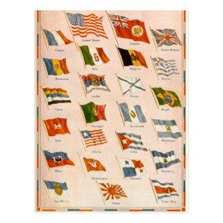 Aliados de WWI Postal