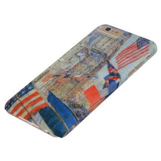 Aliados día, mayo de 1917 Hassam, impresionismo Funda Para iPhone 6 Plus Barely There