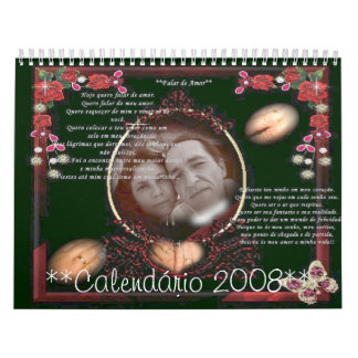 Alianas, **Calendrio 2008** Calendar