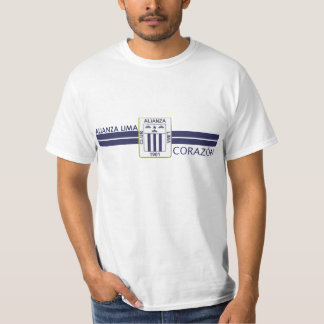 Alianza Lima corazon Tee Shirt
