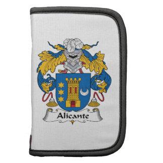 Alicante Family Crest Planner