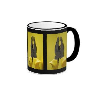alicates taza de café