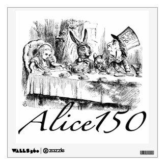 Alice150 Alice in Wonderland 150th Anniversary Wall Sticker
