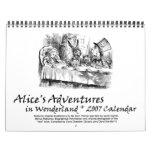 Alice 2007 Calendar