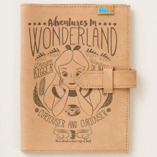 Alice   Adventures In Wonderland Leather Journal